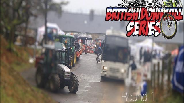 British Downhill Series Round 1 Nant Gwrtheyrn