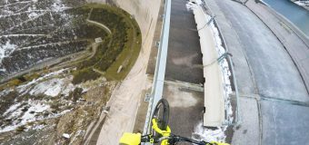 Не поглеждай надолу: балансиране на 200 метра височина
