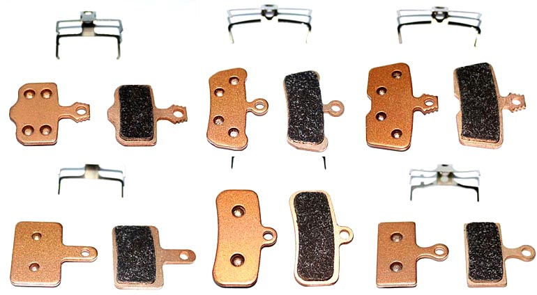 88 components brakepads types