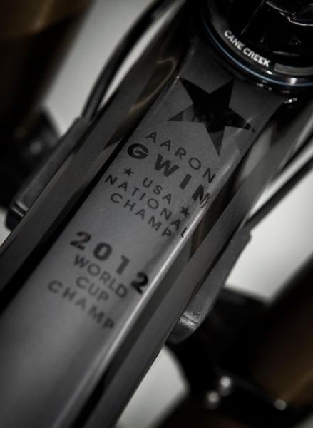 aaron gwin trek 2012 bike 6