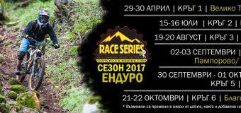 Български ендуро серии 2017 – календар