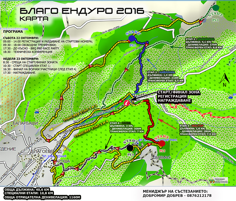 blago enduro program map 2016
