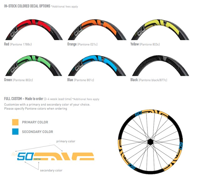 enve colours