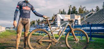 Видео: Матийо Ван Дер Поел изминава трасетата на байкпарк с велосипед XC
